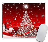 クリスマス装飾背景滑り止めラバーマウスパッド滑り止めが快適マウスパッド滑り止めが快適-クリスマスギフト