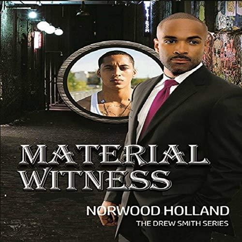 Material Witness audiobook cover art