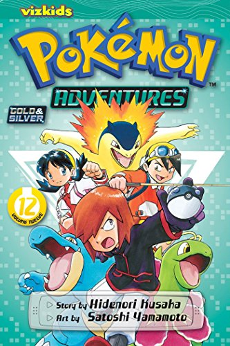 POKEMON ADVENTURES GN VOL 12 GOLD SILVER