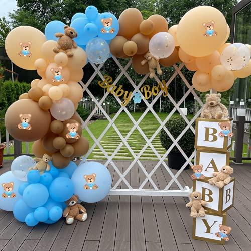 Teddy Bear Baby Shower Decorations for Boys