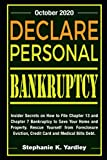 Declare Personal Bankruptcy