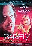 Barfly Mickey Rourke Faye Dunaway - Filmposter 37x53cm