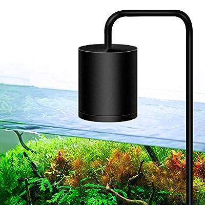Nilipal LED Aquarium Light - Freshwater Fish Tank Lighting Vivarium Terrarium Light 7500K LED 25W for Planted Tank