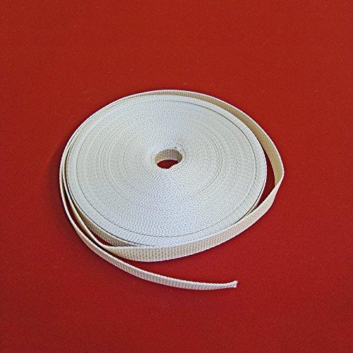 Easy-Shadow - Hochwertiger Rolladengurt Breite 23 mm x Länge 5 m - beige extrem Gurt für Rollladen Maxi Gurtband 5 meter Gurtzugband Zugband für Rolladen Rolladenwickler Aufzuggurt Minigurt Gurtzug Gurtzugband - beige
