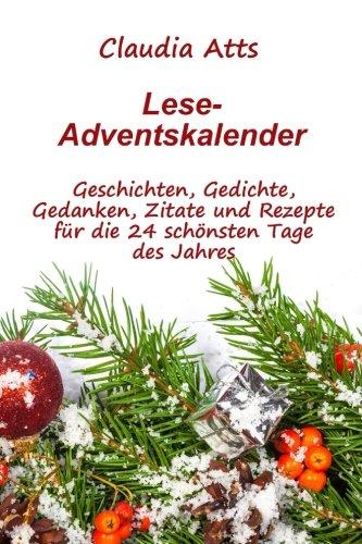 Lese-Adventskalender: Adventskalender, Literatur-Adventskalender