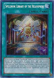 YU-GI-OH! - Spellbook Library of The Heliosphere (ABYR-EN087) - Abyss Rising - 1st Edition - Secret Rare