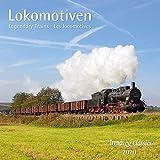 Lokomotiven Legendary Trains 2020 - Broschürenkalender - Wandkalender - mit Schulferientabelle und Jahresübersicht 2020 - Format 30 x 30 cm