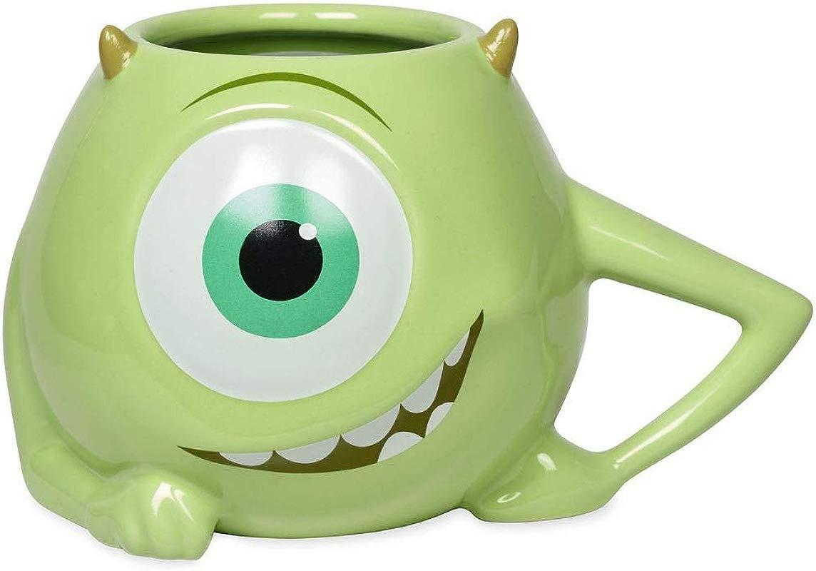 Disney Mike Wazowski Figural Ceramic Mug Holds 20 Oz