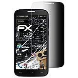 atFoliX Filtro de Privacidad Compatible con Alcatel One Touch Pop C7 Película de Privacidad, 4 vías privacidad FX Protector de Pantalla Privacidad