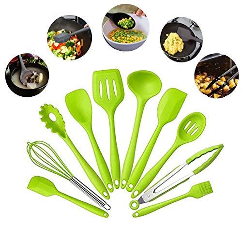 Silicone Heat Resistant Spoon Fork Mat Rest Utensil Spatula Holder Home T Ne,fr