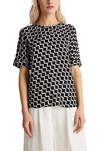 ESPRIT Collection Damen 040EO1F301 Bluse, 114/OFF White 5, 40