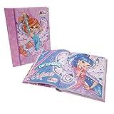 Giochi Preziosi Winx 19 Diario Scuola 10 Mesi, Formato Standard, 320 Pagine, Grafiche Assortite
