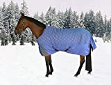 TuffRider 1200D Ripstop Turnout Blanket with 220gms Medium Weight - Adorable Horse Pony Print
