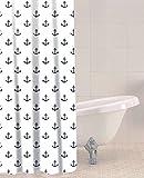 Sabichi Anchor PEVA Shower Curtain by Sabichi