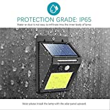 OurLeeme 48-LED PIR sensore di movimento Night Light Security Wall luce solare esterna impermeabile per Garden Pathway (1PCS)
