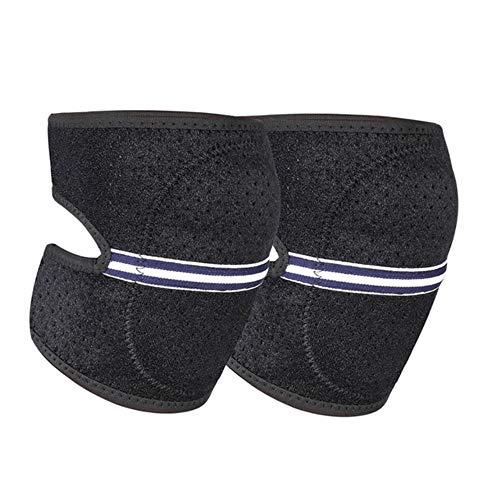 Piore Dance Knee Pads Yoga Knee On Floor Abrasion Proof Sports Knee Protector Pads Kneepad Breathable Kneecap,Black,S