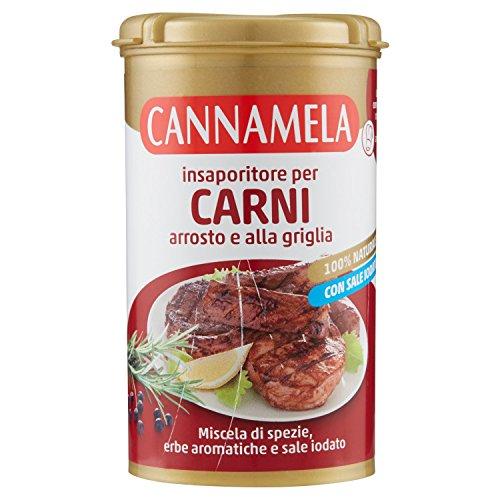 Cannamela - Insaporitore per Carni, Arrosto e alla Griglia, 90 g - [confezione da 6]