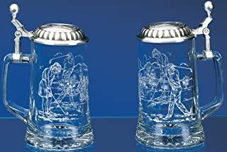 Golf Glass Stein