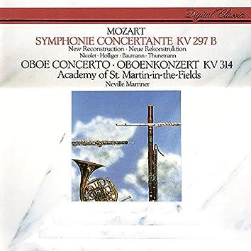 Mozart: Sinfonia Concertante; Oboe Concerto