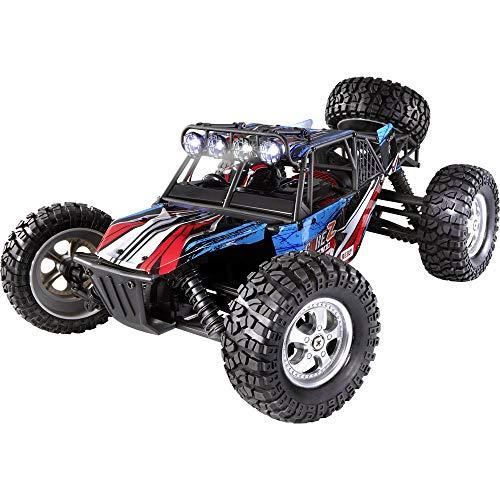 Reely Brushed 1:10 XS RC Einsteiger Modellauto Elektro Buggy Allradantrieb (4WD) RTR 2,4 GHz inkl. Akku und Ladekabel