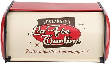 FZYE Récipient à Pain, Porte-Pain de Fabrication exquise, pour Boulangerie Amis Maison Cuisine lucar (Couleur: Rouge)
