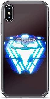 iPhone XR Pure Anti-Scratch Case Arc Reactor Nanotech Armor Iron-Man Tony-Stark Stan Lee Avengerss Movie Shield Comic Superhero