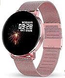 GOKOO Smartwatch 1.3 Zoll HD Voller-Touch Screen Damen Herren Intelligent Uhr IP67...