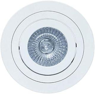 Mantra - Empotrable circular aluminio colección Tek, (Válido para bombilla Halógena y Led)