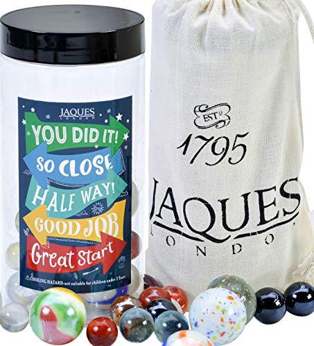 Jaques of London Marbles Reward System - Pizarra de recompensa para niños, canicas de cristal, tablero de recompensa, desde 1795