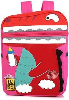 Kids Backpacks School Bags Dinosaur Toddler Boys Girls Daypacks Anti-Lost Leash Safety Strap Backpacktravel School Bag Kindergarten Preschool Toddler Zoo Pack