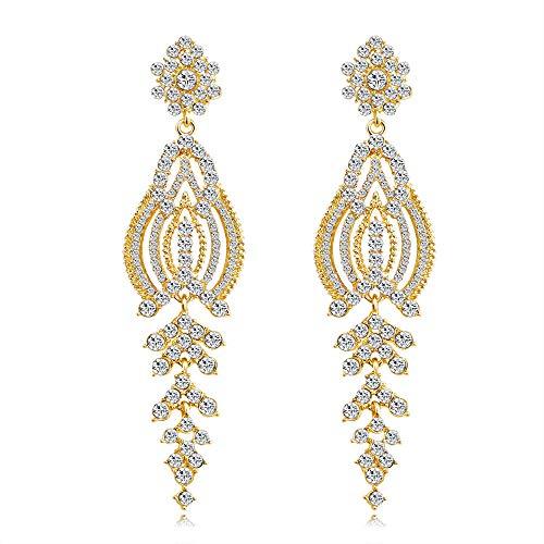 Sieraden oorbellen, oorstekers, vrouwelijk, legering, wild persoonlijkheid, modieus, cadeau, kwaliteit van de beroemde merk/goud, zoals afgebeeld