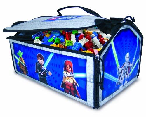STAR Wars Zip Bin MILLENIUM FALCON CORSA caso Carry Storage STORE TOY BAG Playmat