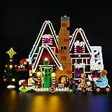 LIGHTAILING Conjunto de Luces (Creator Casa de Jengibre) Modelo de Construcción de Bloques - Kit de luz LED Compatible con Lego 10267 (NO Incluido en el Modelo)