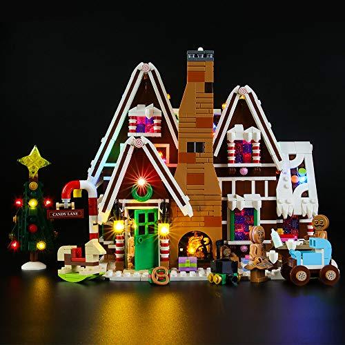 LIGHTAILING Licht-Set Für (Creator Lebkuchenhaus) Modell - LED Licht-Set Kompatibel Mit Lego 10267(Modell Nicht Enthalten)