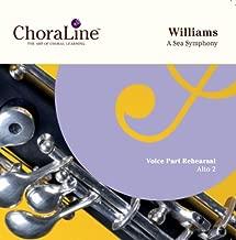 Vaughan Williams A Sea Symphony ALTO 2 Rehearsal CD