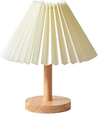 VORCOOL デスクライト led かわいい おしゃれ 木製 レトロ 目に優しい 北欧 3色調光 読書 授乳 リビング 寝室