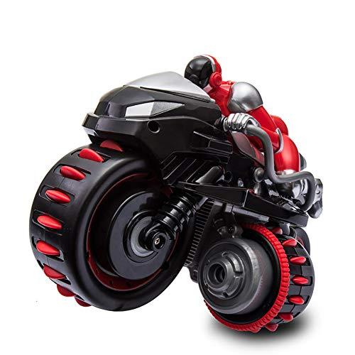 XLNB Mando a Distancia De La Motocicleta De Alta Velocidad Modelo De Truco De Deriva Coche De Control Remoto De Juguete con Luces Regalos para Niños