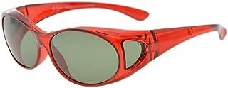 Eyekepper Retro Style Polarized Fitover Sunglasses for Prescription Glasses