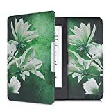 kwmobile Funda Compatible con Amazon Kindle Paperwhite - Carcasa para e-Reader de Piel sintética - Blanco/Amarillo/Verde/Verde