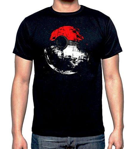 Sharp Threads Herren T-Shirt schwarz schwarz Large Gr. L, schwarz