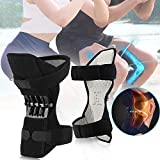 Knee Booster Joint Support Pad Spring Knee Strap Brace for Hiking, Running, Climbing
