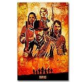 MXLF Leinwand-Malerei Red Dead Redemption Poster Wall Art