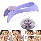COINFINITIVE Slique Eyebrow Face and Body Hair Threading and Removal System Tweezers for Women (Multicolour)
