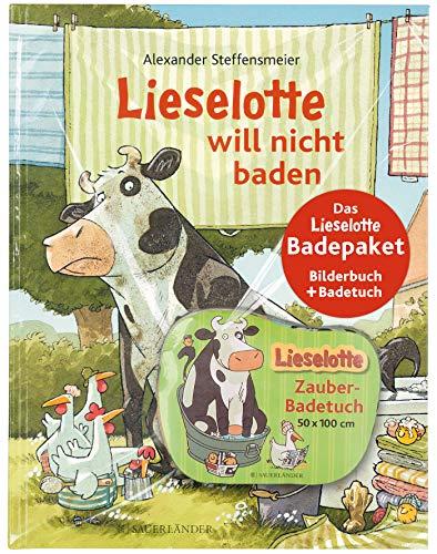 Das Lieselotte Badepaket: Das Bilderbuch