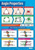 Winkeleigenschaften   Mathematik-Poster   Glanzpapier, 594