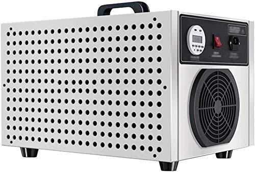 Purificador de Aire y generador de ozono mejorados, desodorizador de ionizadores de Aire de máquina de ozono de 5000 MG/h con Temporizador, para Humo, automóviles y Mascotas para el hogar de Forma