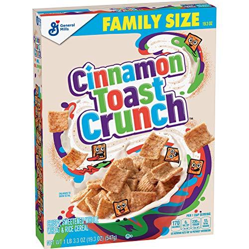 Cinnamon Toast Crunch Cereal with Whole Grain 193 oz