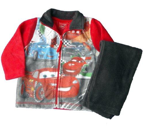 Disney Cars 2er Set - Fleece Jacke und Hose - RSN Ultimate Race Polaire - Rot