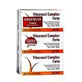 Vitacrecil Complex Forte 180 capsulas Para 3 meses. OBSEQUIO UN MES. 2+1