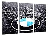 Wandbild - BMW Logo, BMW Symbol, Autos, Motorräder, 97 x 62 cm, Holzdruck - XXL Format - Kunstdruck, ref.26472